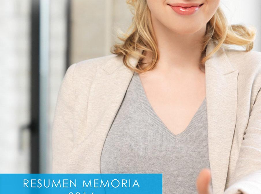 Resumen Memoria 2016 Centro Especial de Empleo Celima