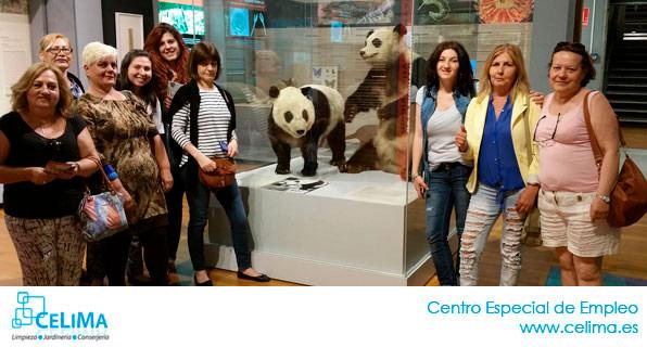 Actividades Celima, Centro Especial de Empleo Madrid: VISITA AL MUSEO DE LAS CIENCIAS DE MADRID