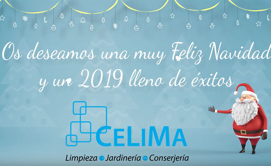 Os deseamos Feliz Navidad y Próspero año 2019