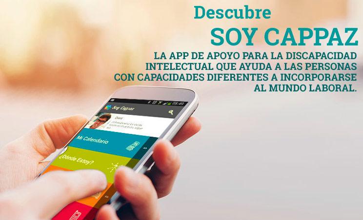 Aplicaciones para personas con discapacidad psíquica: APP Soy Cappaz