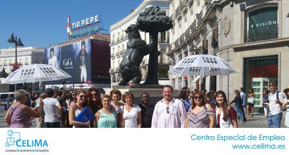 Actividades Celima, Centro Especial de Empleo Madrid: VISITA MADRID