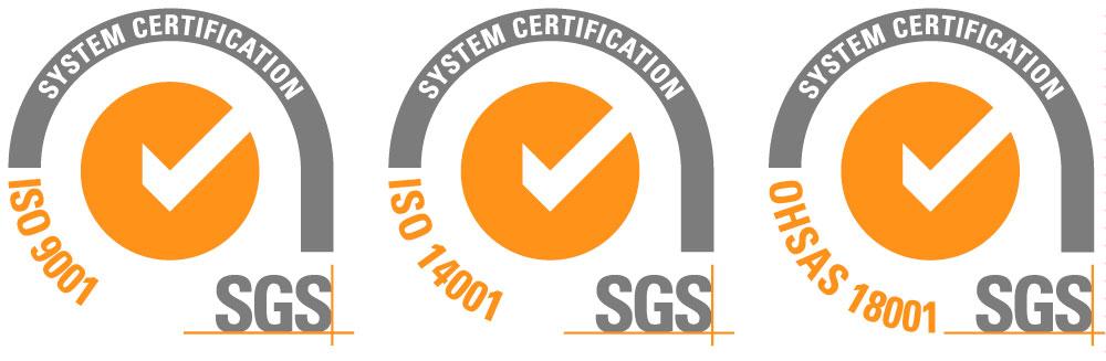 Renovación certificaciones ISO 9001, 14001 y OHSAS 18001
