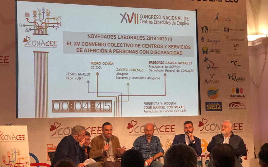 XVII Congreso Nacional de Centros Especiales de Empleo 2019