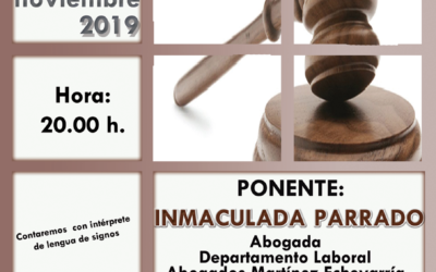 Conferencia sobre incapacidad laboral